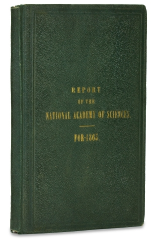 Ironclad Ships:] Report of the National Academy of Sciences for the Year 1863. President National...