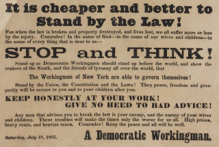 To the Laboring Men of New York.