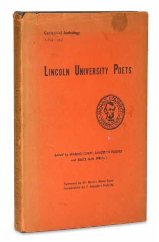 Lincoln University Poets. Langston Hughes