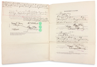 Form No. 102. U.S. Light-House Establishment. Proposal and Contract for Provisions. [Lighthouse Contract]