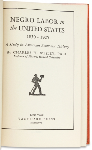 Negro Labor in the United States, 1850-1925. A Study in American Economic History.