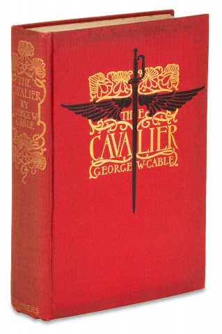 The Cavalier. [Inscribed Copy]. George W. Cable, Howard Chandler Christy, 1844–1925,...