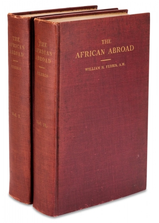 The African Abroad or His Evolution in Western Civilization, Tracing His Development under...