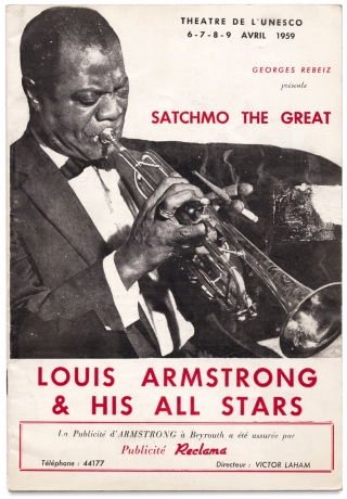 Theatre de L'UNESCO…Satchmo the Great, Louis Armstrong & his All Stars [cover title]. Louis...
