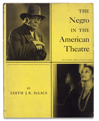 The Negro in the American Theatre. Edith J. R. Isaacs