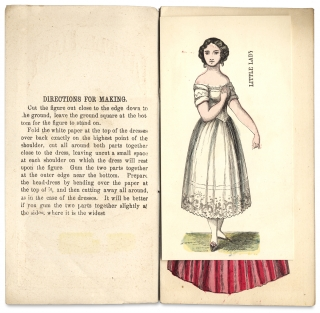 """Little Lady [cover title of McLoughlin Bros. Paper Doll """"Toy Book""""]."""