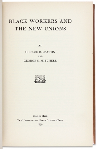 Black Workers and the New Unions.