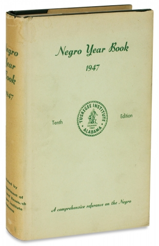 Negro Year Book. A Review of Events Affecting Negro Life, 1941-1946. Jessie Parkhurst Guzman