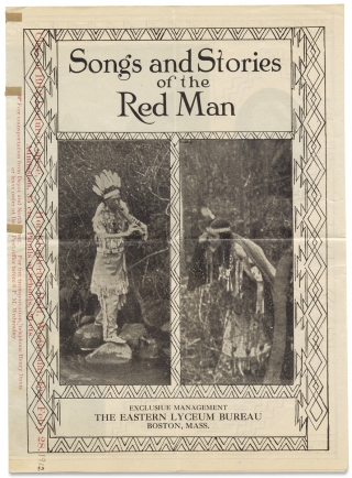 Songs and Stories of the Red Man. The Eastern Lyceum Bureau, Albert Gale, Martha Gale