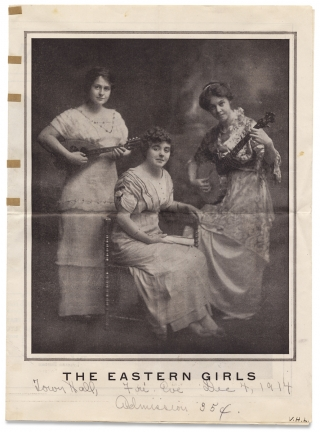 The Eastern Girls [cover title]. The Eastern-Empire Lyceum Bureau