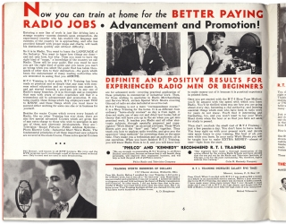 Radio's Future and Yours [cover title].