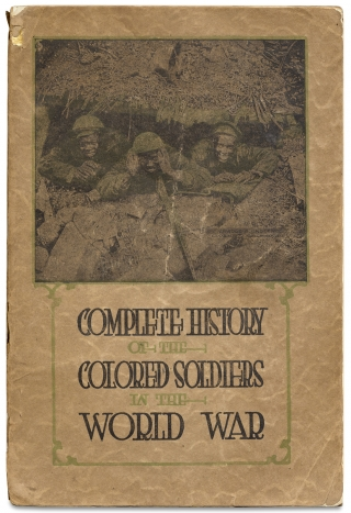 Complete History of the Colored Soldiers in the World War. Sergt. J. A. Jamieson