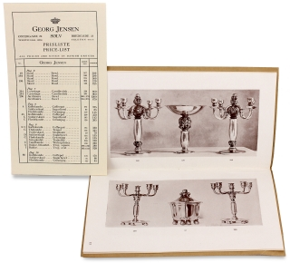 Collection of Georg Jensen Silver Catalogs and Price Lists]. Georg Jensen, Aktieselskabet Georg...