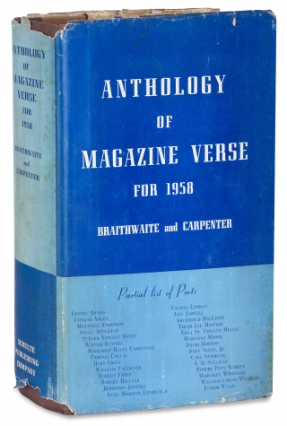 Anthology of Magazine Verse for 1958… and Anthology of Poems from the Seventeen Previously...