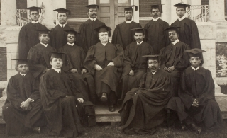 Lincoln University (Pennsylvania) Class Graduation Photograph]. Lincoln University, Pennsylvania,...