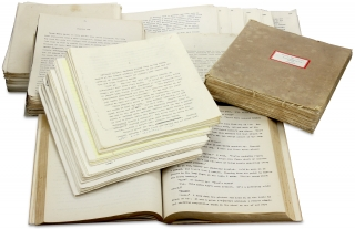 C.1930–1945 Archive of 35 Typed Manuscripts for Novels and Short Stories by Donald M....