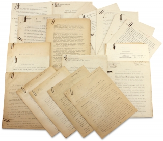 [C.1930–1945 Archive of 35 Typed Manuscripts for Novels and Short Stories by Donald M. Kirkpatrick, Noted Bermuda Artist, and his Wife, Artist Renée D. Kirkpatrick].
