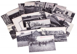 Sixteen 1910 to 1914 Elizabethtown, Pennsylvania Postcards showing Masonic Homes]. Publisher S G....