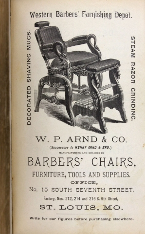 The Barbers' Recipe Book for the Use of Barbers Especially; Giving the Formulae and Most Approved Methods for Making the Various Preparations Used by the Trade. Also a Valuable Collection of Miscellaneous Recipes and Useful Information.
