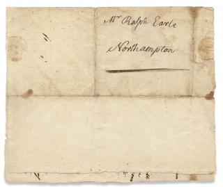 [1799 ALS to American Historical Painter and Portraitist Ralph Earle seeking His Tuition of Young Artist, William Southgate].