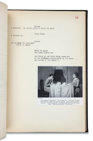 Machinal. [illustrated play typescript]