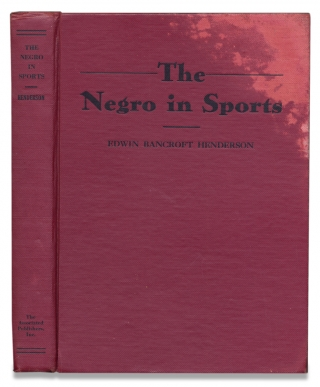 The Negro in Sports. [Revised Edition]. Edwin Bancroft Henderson