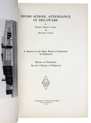 Negro School Attendance in Delaware. A Report to the State Board of Education of Delaware. Bureau of Education Service Citizens of Delaware.