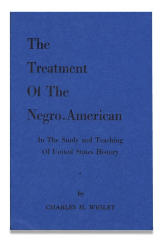 The Treatment of The Negro-American in the Study and Teaching of United States History. Charles...