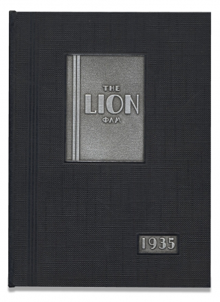 The Lion, A Record of Achievements Published by The Class of 1935 [Phi Lamda Mu] Lincoln...