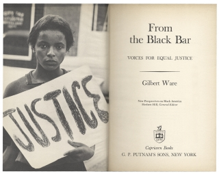 From the Black Bar, Voices for Equal Justice.