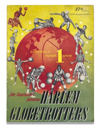 27th Season Official Souvenir Program, Abe Saperstein's fabulous Harlem Globetrotters. The...