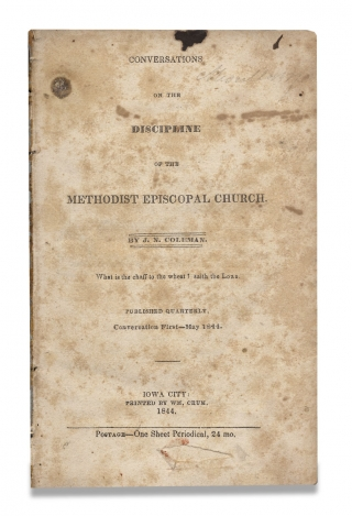 Conversations on the Discipline of the Methodist Episcopal Church ... Published Quarterly,...