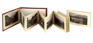 White Mountains. [cover title of concertina-fold, lithographic view book]