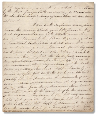 A letter containing remarks on Abbott's Corner Stone by the Rev'd George Scott on reading a...
