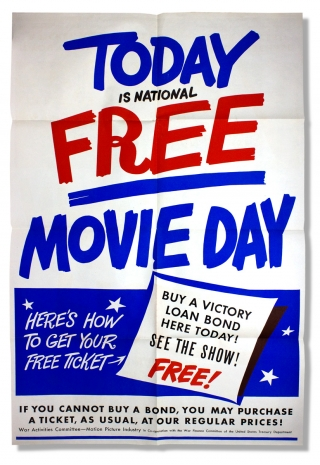 [Harry S. Truman:] Come On, Movie-Goers Let's Finish the Job! [Two Post-Second World War Movies-Themed Posters]