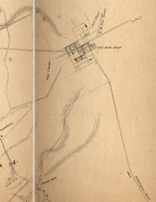 [1846 Hand-Colored Map: Plan of the Battle of Brandywine. September 11th, 1777. Compiled from an Actual Survey made during the summer of 1846].