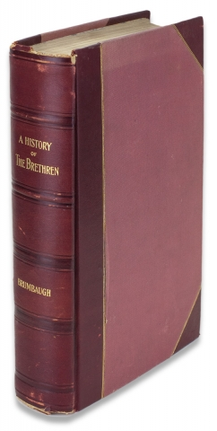 A History of The German Baptist Brethren in Europe and America. Martin Grove Brumbaugh