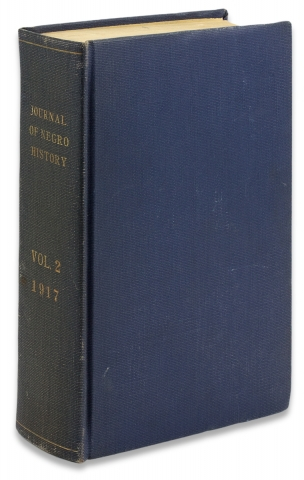 The Journal of Negro History, Volume II, 1917 [complete; from the library of Black historian Charles H. Wesley].